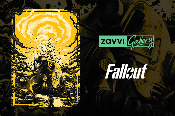 LIMITED EDITION <BR> FALLOUT GICLEE PRINT