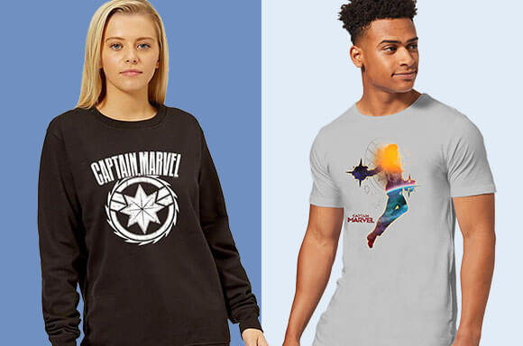 CAPTAIN MARVEL CLOTHING