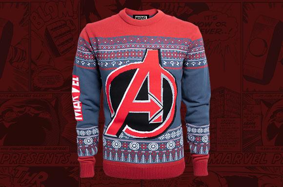 Marvel Avengers Christmas Knitted Jumper