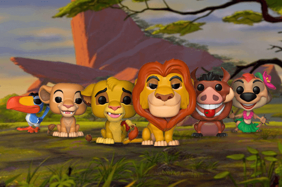 LION KING POP! VINYL FIGURES
