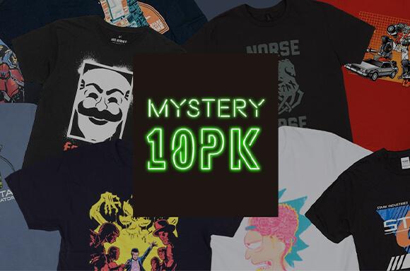 10pk Mystery T-shirt