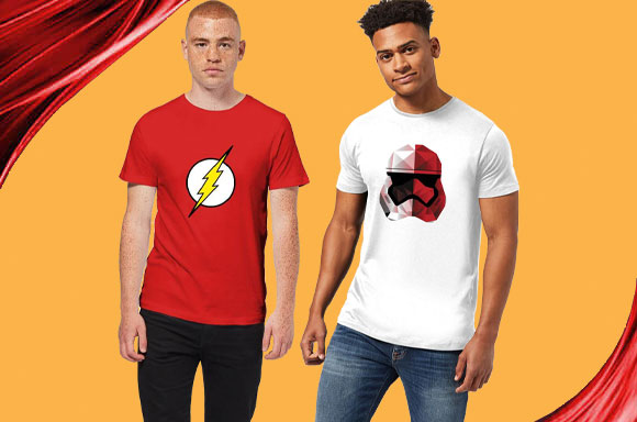 T-SHIRTS FOR ONLY £5