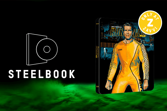 THE RUNNING MAN STEELBOOK & COLLECTORS EDITION