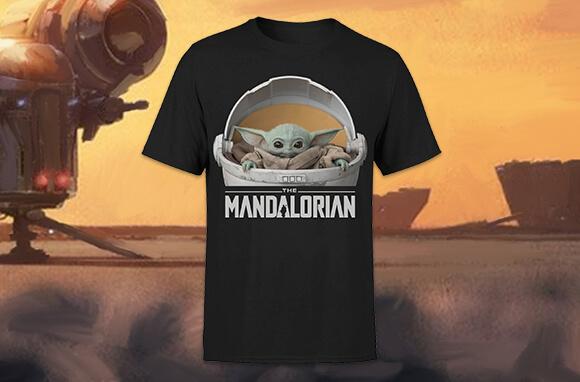 MANDALORIAN T-SHIRT ONLY £8.99!