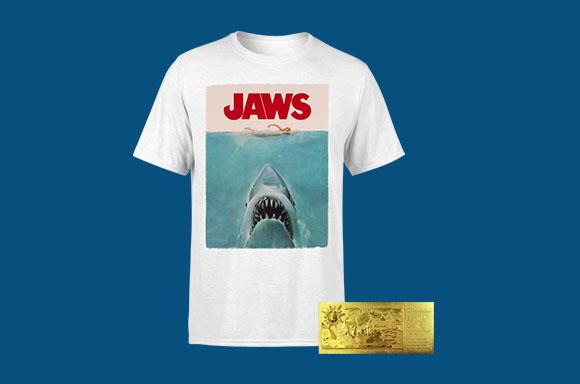 Jaws Tee & Ticket Bundle