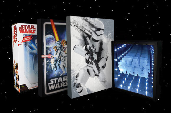 STAR WARS WALL ART MEGA BUNDLE