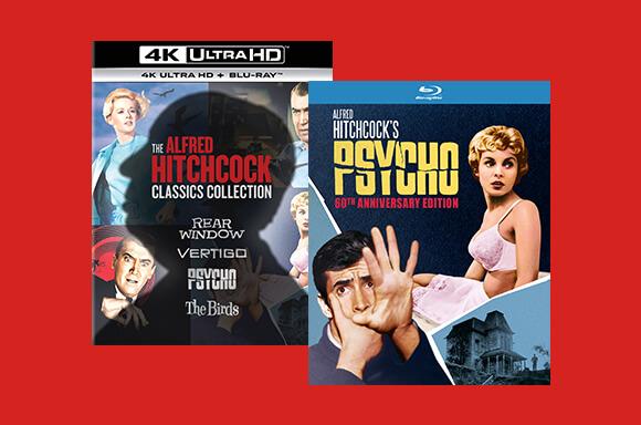 ALFRED HITCHCOCK CLASSICS COLLECTION <BR> 4K UHD BOXSET + PSYCHO BLU-RAY