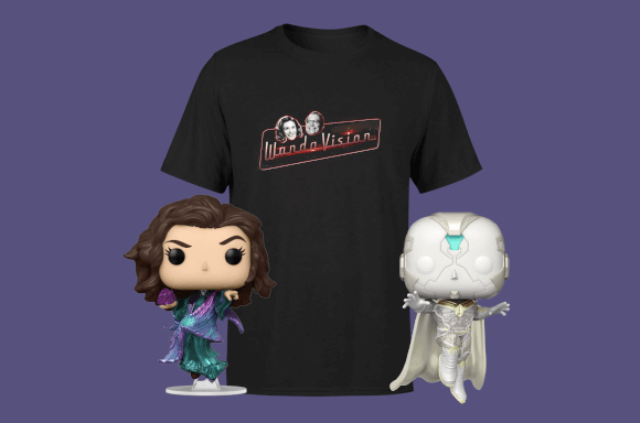 Product Image WandaVision Bundle (T-Shirt + Pop)