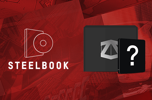 MARVEL STEELBOOK X ZBOX