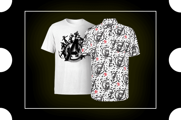 Summer Printed Shirt and T-shirt Bundle