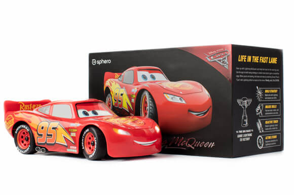 SPHERO CARS LIGHTING MCQUEEN DROID!