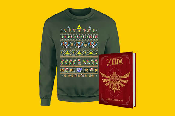 ZELDA CHRISTMAS BUNDLE ONLY £24.99!
