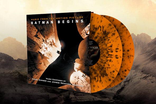 BATMAN BEGINS VINYL RECORDS