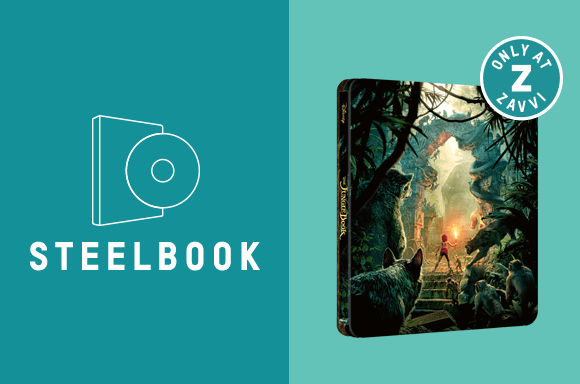 JUNGLE BOOK (LIVE ACTION) 4K UHD STEELBOOK