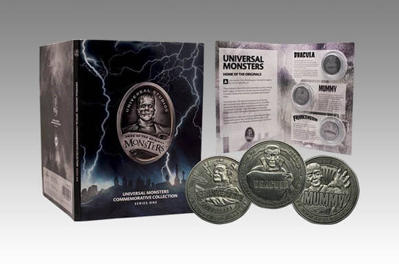 UNIVERSAL MONSTERS LIMITED EDITION COIN ALBUM