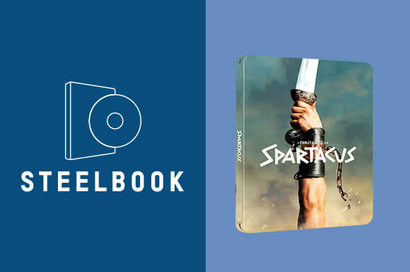 Spartacus - 60th Anniversary Limited Edition 4K Ultra HD Steelbook