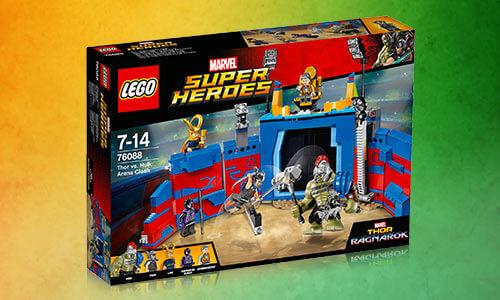 LEGO Marvel Superheroes: Thor vs Hulk Arena Crash