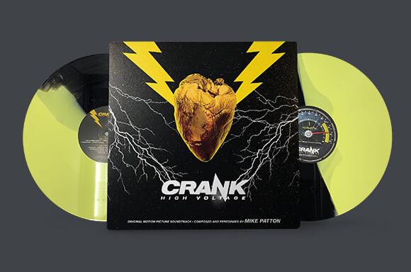 CRANK: HIGH VOLTAGE SOUNDTRACK 2xLP