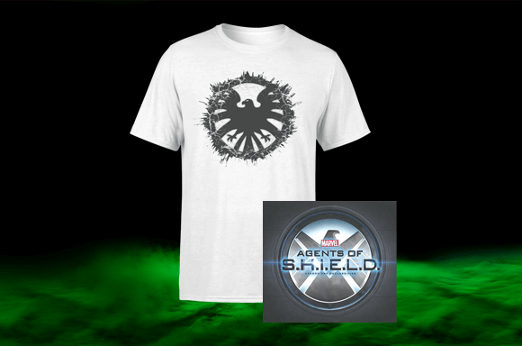 AGENTS OF SHIELD BOOK & T-SHIRT