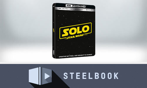 SOLO: A STAR WARS STORY 4K LIMITED EDITION STEELBOOK (INCLUDES 2D VERSION)
