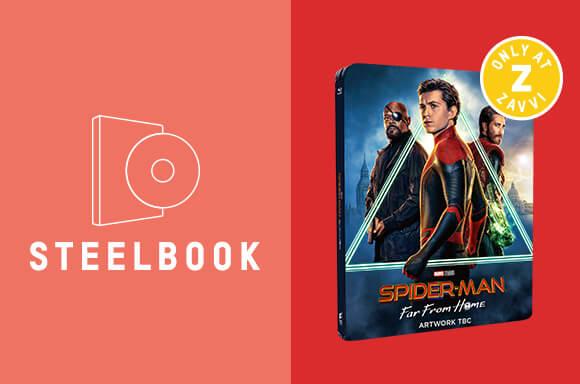 SPIDER-MAN: FAR FROM HOME<br> 4K STEELBOOK BUNDLE