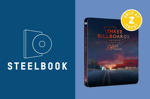 THREE BILLBOARDS 4K ULTRA HD STEELBOOK
