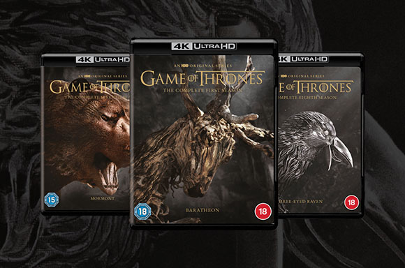 Game of Thrones: Seasons 1-8 4K Ultra HD