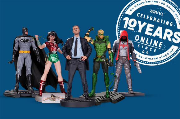 5 DC COLLECTIBLES STATUES FOR JUST £79.99