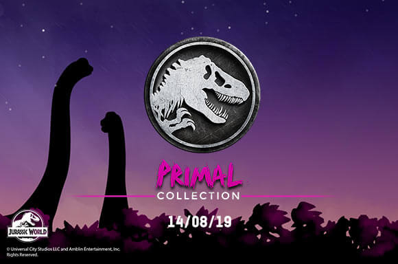 JURASSIC PARK PRIMAL COLLECTION