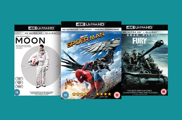 BLU-RAY SONY PICTURES 4K: 2 x 22 €
