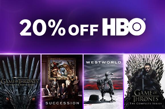 PACKS HBO: 20 % DTO.