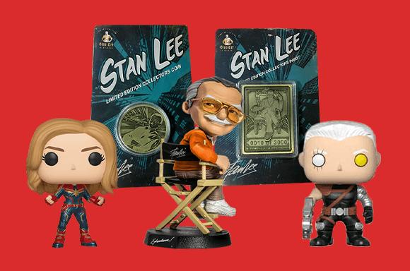 Caja coleccionista Marvel STAN LEE