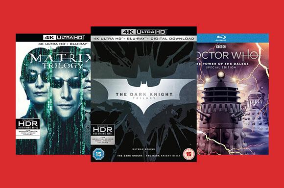 Bajada de precios en BR & DVD