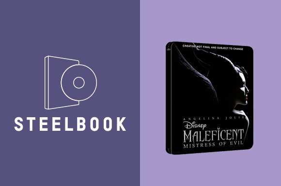 STEELBOOKS 3D & 4K<BR>MALÉFICA: MAESTRA DEL MAL