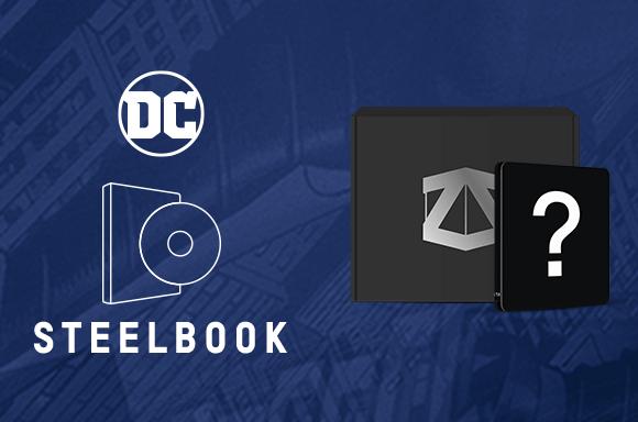 ZBOX X STEELBOOK MISTERIOSA DC COMICS