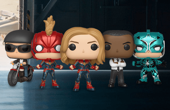 3 FUNKO POP! MARVEL POR 34,99 €
