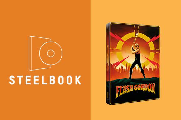 STEELBOOK FLASH GORDON 4K