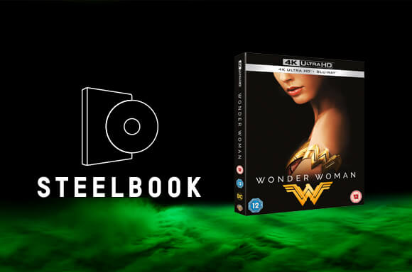 STEELBOOK WONDER WOMAN 4K