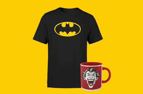 DC - T-shirt & Mug Bundle only £8.99