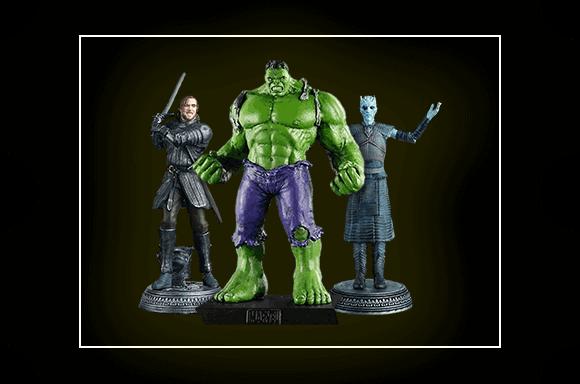 Eaglemoss Set of Collector Figures