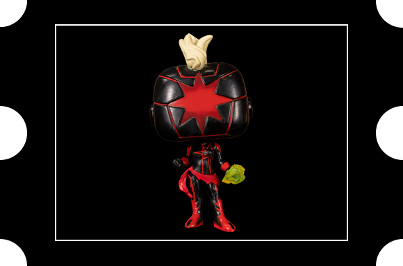 Figurine SDCC 2020 EXC Pop! Vinyl Marvel Comics Dark Captain Marvel