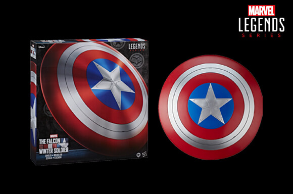 Hasbro Marvel Legends Falcon and Winter Soldier Captain America Role Play Shield