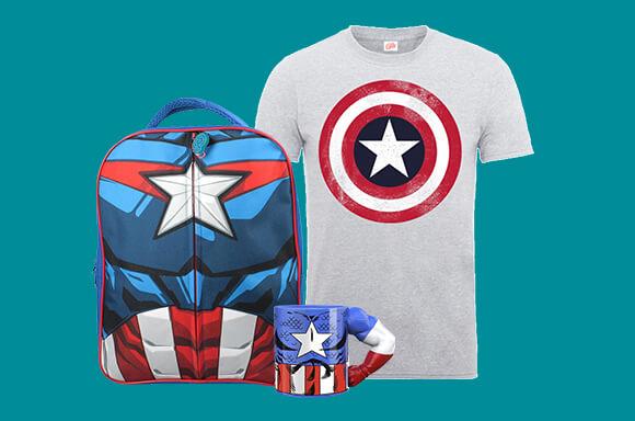 MegaPack Capitán America