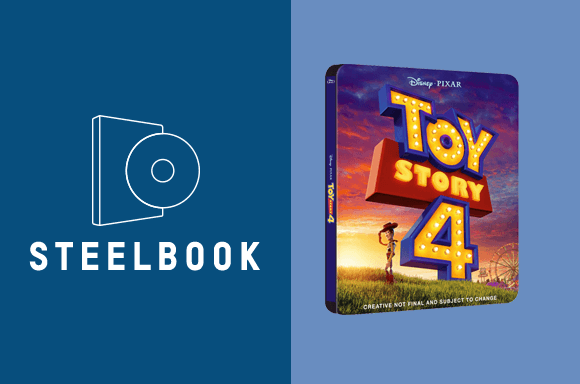 LOT STEELBOOK TOY STORY 4