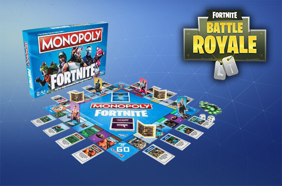 MONOPOLY OFFICIEL FORTNITE