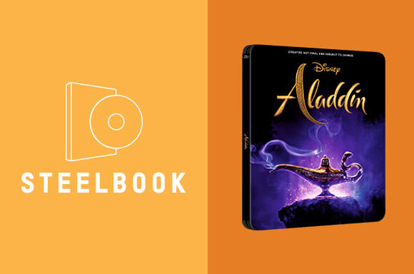 STEELBOOKS ALADDIN 3D & 4K ULTRA HD