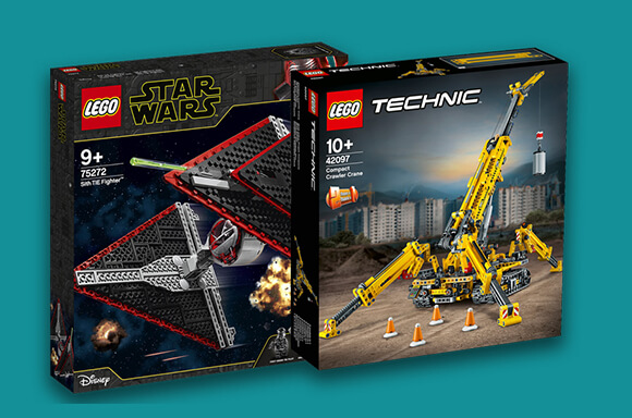 SETS LEGO : 20% DE RÉDUCTION