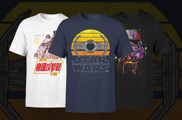 T-Shirts Star Wars - SEULEMENT 9,99 €