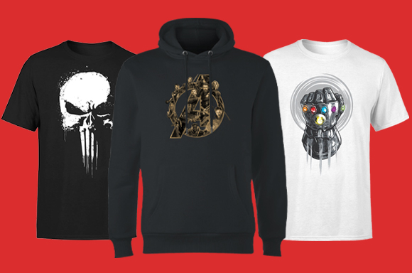 30% off Marvel Clothing