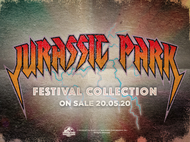 JURRASIC PARK - FESTIVAL COLLECTION